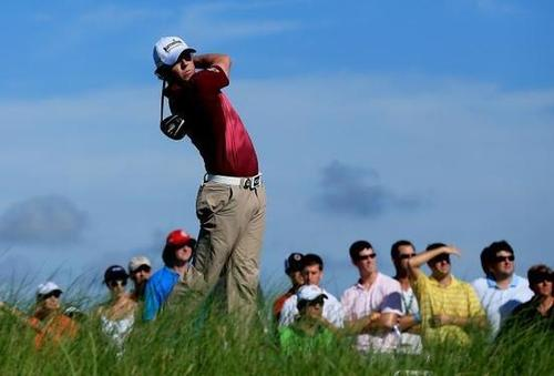 Rory in action - US PGA 2012