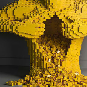 Art of Brick Lego solo show by Nathan Sawaya at Discovery Times Square | Tech Nontech Magazine | Scoop.it