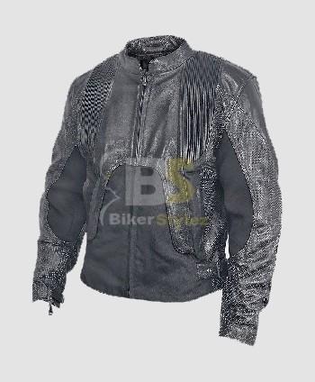Mens Armored Aegis Leather Motorcycle Jacket exude a distinct look. | Mens Biker Jackets | Scoop.it