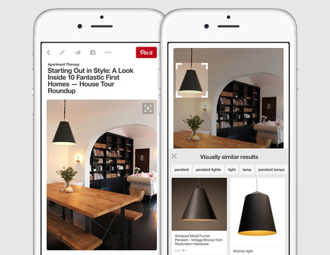 Pinterest's visual search tool can identify items in a pin | Understanding Social Media | Scoop.it