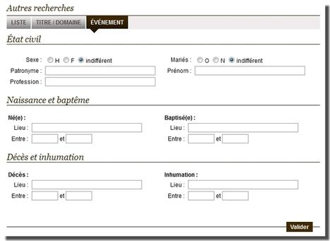 Les divers modes de recherche dans les Arbres en Ligne - Le Blog ...   Chroniques d'antan et d'ailleurs   Scoop.it