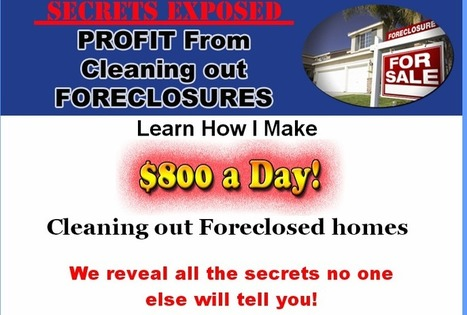 Social News Source: Profit From Cleaning Out Foreclosures   Best Social Media on the Web   Scoop.it