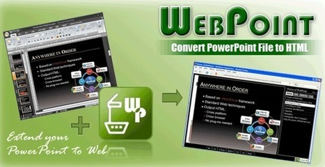 WebPoint - PPT to HTML Converter | Digital Presentations in Education | Scoop.it