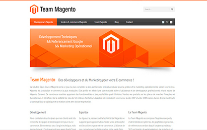 Team Magento - création du site internet | Last Portfolio | Scoop.it