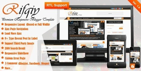 Free Download Rifqiy Responsive Magazine/News Blogger Template | Blogger themes | Scoop.it