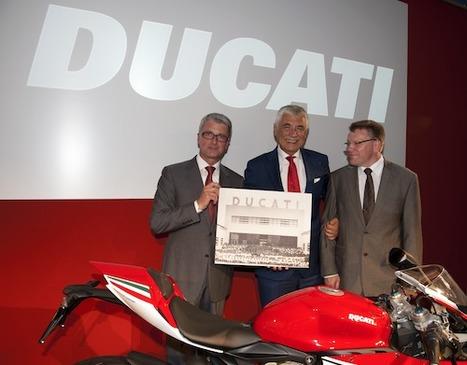 Audi CEO Says Willkommen to Ducati   Ducati & Italian Bikes   Scoop.it