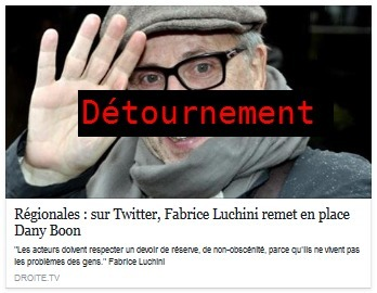 Luchini vs Dany Boon, combat truqué | NLMR | Désinformation | Scoop.it