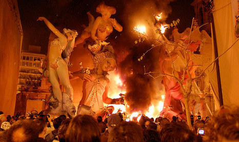 The Fallas in Valencia: the Beauty of Fire | Places and Nature | Scoop.it