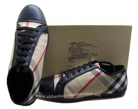Burberry Classic Men Nova Check Sneaker Black [B005715] - $149.00 : Burberry Outlet Stores,Burberry Outlet Online,Cheap Burberry For Sale | Burberry | Scoop.it