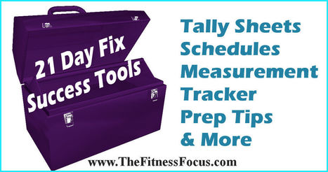21 Day Fix Tools for Success with the Diet and Workouts   Health & Fitness   Scoop.it