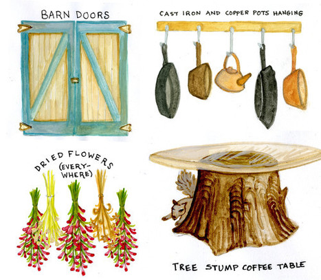 Elementi di stile per la casa di campagna | Gn'T Style Pills | Scoop.it