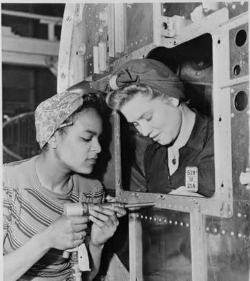 Partners in Winning the War: American Women in World War II | WW2: Women in the Military | Scoop.it