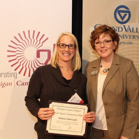 GRCC wellness professor receives state recognition for service learning - The International News Magazine | Service Learning | Scoop.it