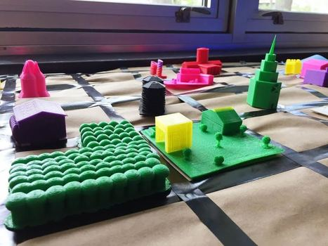 5th Graders Utilize 3D Printing to Create Their Own Custom Cities   Using Technology to Transform Learning   Scoop.it