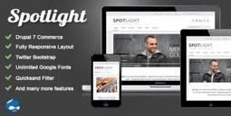 Spotlight - Themeforest Responsive Drupal 7 eCommerce Theme | Theme Mart | Scoop.it