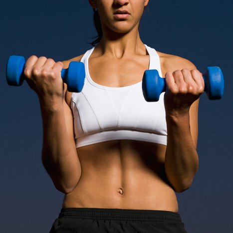 5 Exercises to Lose Belly Fat and Define Your Waist|Shape Magazine | Fitness | Scoop.it