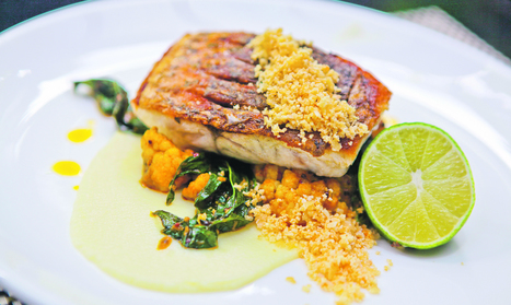 Recipe: Two chefs show how to cook up the halibut and barramundi | Aquaponics Cooking | Scoop.it