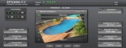 Gestion de piscine avec ipx800 v3 hightech d for Domotique piscine