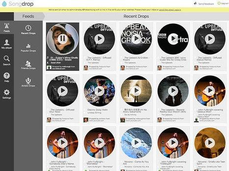 Songdrop, le Delicious de la musique en streaming | Ziknum | Scoop.it