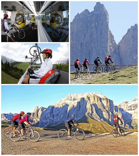 Sellaronda MTB Tour - Mountainbiking in the Dolomites | Italia Mia | Scoop.it