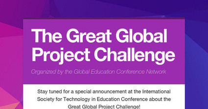 The Great Global Project Challenge | 21st Century School Libraries | Scoop.it