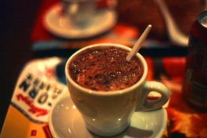 Le chocolat chaud est meilleur dans une tasse orange   Fooding Club : Cuisine, restauration, alimentation   Scoop.it