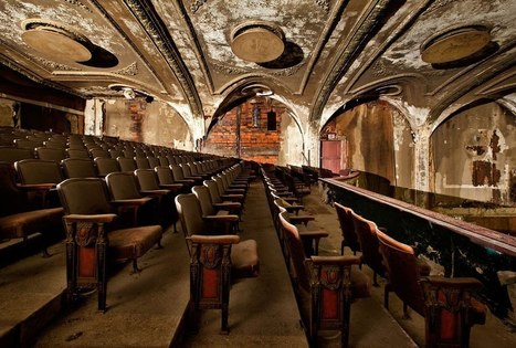 Photos of an Abandoned Cleveland Vaudeville Theater Turned Rock Music Venue | Modern Ruins, Decay and Urban Exploration | Scoop.it