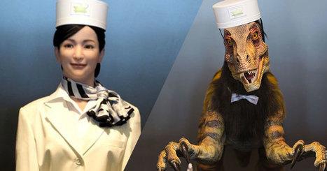 Découvrez cet incroyable hôtel japonais dont tous les employés sont des robots ! | Détective de l'étrange | Scoop.it