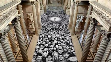 JR:  Thousands of faces | Art Installations, Sculpture | Scoop.it