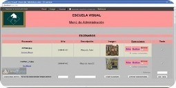 Escuela Visual, una aplicación web y Software Libre para la docencia | Bolso Digital | Scoop.it
