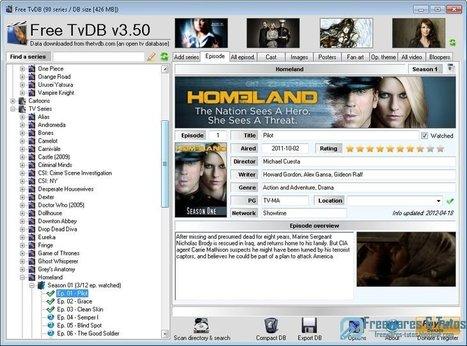 Free TvDB : un logiciel portable pour suivre ses séries préférées | Time to Learn | Scoop.it