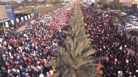 Bahrain: Massive crowds reaching almost 300,000 citizens participate in protests demanding a democracy in place of Tyranny - alwefaq   Human Rights and the Will to be free   Scoop.it