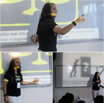 [Novembre 2014] Startup Session Webdays ORAN   Mounira Hamdi   Scoop.it