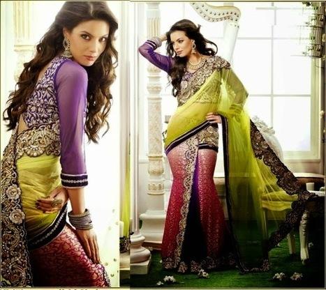Ethnic Sari India Modern Embroidered Blouse Design | Your Choice For Dress | Your choice for dress | Scoop.it