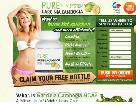 Pure Garcinia Cambogia Slim System Review - Risk Free Trial Now | Weight Loss Supplement Gives You Slim and Gorgeous Body | Scoop.it