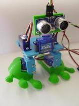 Arduped (tm) biped robot | Let's Make Robots! | Raspberry Pi | Scoop.it