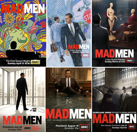 Mad Men's Final Season Poster Revealed   A2 Media Studies   Scoop.it