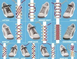 Shoelace different styles | DIY-UPCYCLING-RECYCLED | Scoop.it