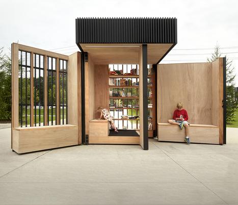 Toronto: une box mobile géante devient bibliothèquede quartier | -thécaires | Actualité(s) des Bibliothèques | Scoop.it