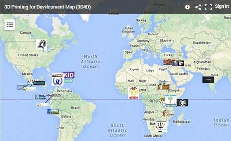 Techfortrade 3DP Development Projects Map | Digital Design and Manufacturing | Scoop.it