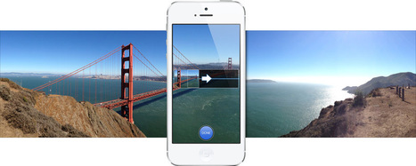 Hidden iOS 7 feature puts panoramas in lock screen - CNET (blog) | make panorama masterpiece at home | Scoop.it