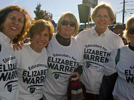 photo: Educators for Elizabeth Warren, including Randi Weingarten | Massachusetts Senate Race 2012 | Scoop.it