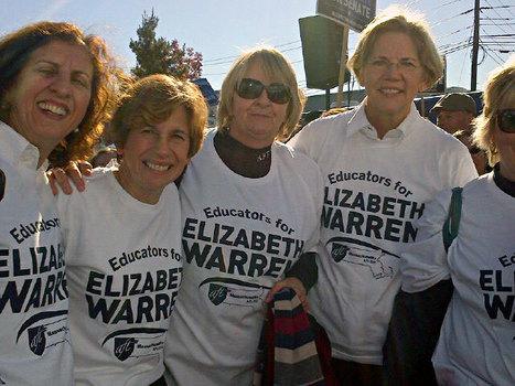 photo: Educators for Elizabeth Warren, including Randi Weingarten | Massachusetts Senate Race 2012 | Scoop.it