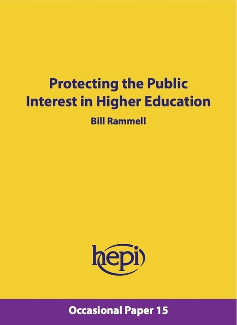 Protecting the Public Interest in Higher Education - HEPI | Higher education news for libraries and librarians | Scoop.it
