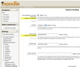 The Open Source eLearning Blog: Why Your Moodle Site is Slow: Five Simple Settings | Are you a Moodler? | Scoop.it