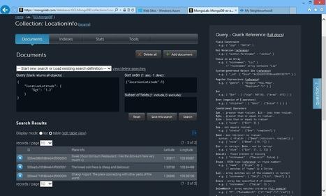Deploy MongoDB to Azure: It's Never Been Easier | JS App Development | Scoop.it