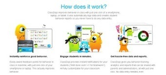 Class Dojo real-time behavior feedback platform Apps get updates | Educational Technology | Scoop.it