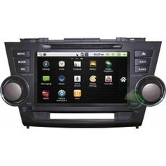 Android Car DVD Gps navigation Stereo for Toyota Highlander with Radio Bluetooth 3G Wifi | Carputer-shop.co.uk | Scoop.it
