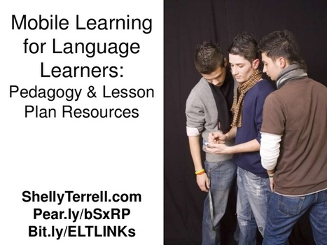 Mobile Learning for Language Teachers: Resource... | Distance Ed Archive | Scoop.it