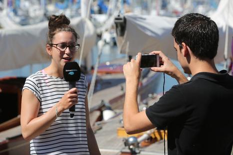 Cette chaine TV suisse remplace ses caméras par des iPhones et des perches à selfie | Tendances numériques et outils du web | Scoop.it